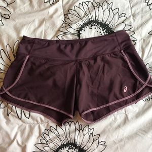 ASICS Purple Shorts
